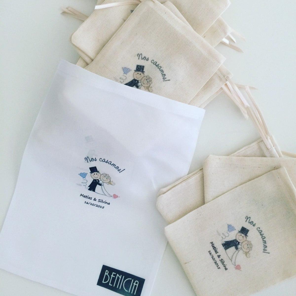 774a9a152 Pack 120 Bolsas De Tela Personalizadas - $ 2.000,00 en Mercado Libre