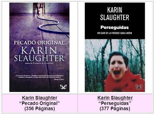 pack 15 libros pdf karin slaughter (favor leer descripción)