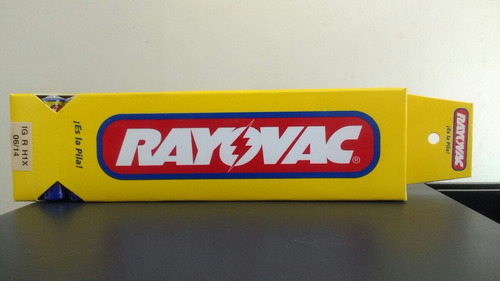 pack 180 pilas triple a rayovac