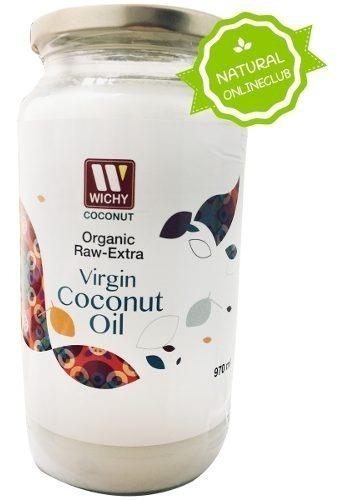 pack 2 aceite de coco orgánico 100% extra virgen 1000 ml