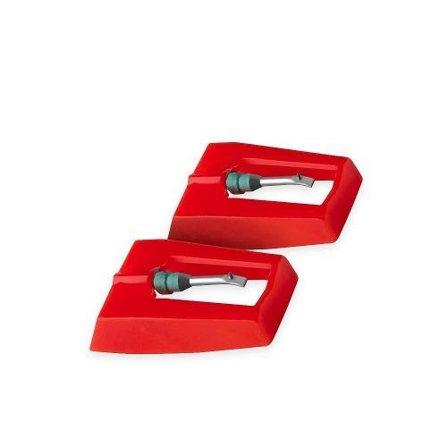 pack 2 agujas para tocadiscos universal / rebajas