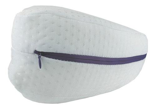 pack 2 almohadas para piernas con memoria visco elástica