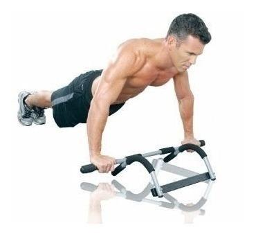pack 2 barra de ejercicios marco puerta abdominales flexione