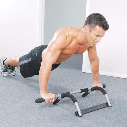 pack 2 barra de ejercicios multifuncional para dominadas