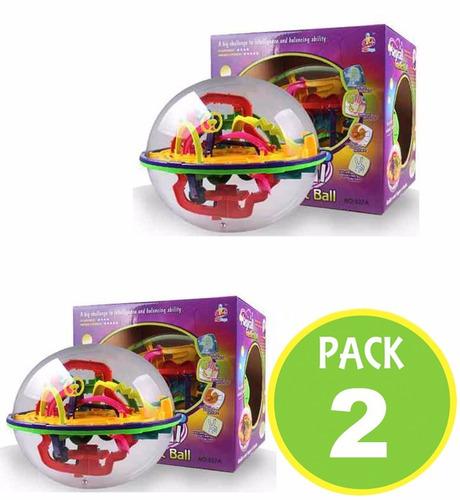 pack 2 bola magica juego niños ingenio 31304 / fernapet