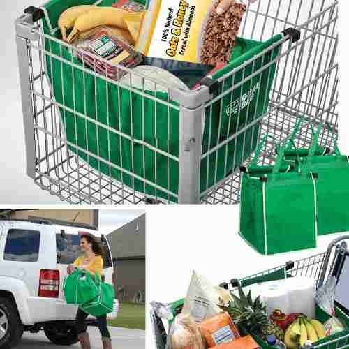 d7fc8d271 Pack 2 Bolsas Ecologicas Reutilizable Para Supermercado - $ 3.990 en ...