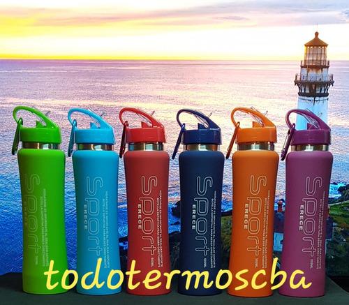 pack 2 botellas termicas (1 500ml + 1 350ml) con envio incl