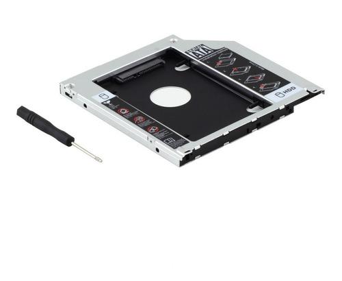pack 2 caddy notebook o macbook pro 9.5 12.7mm ssd | dfast