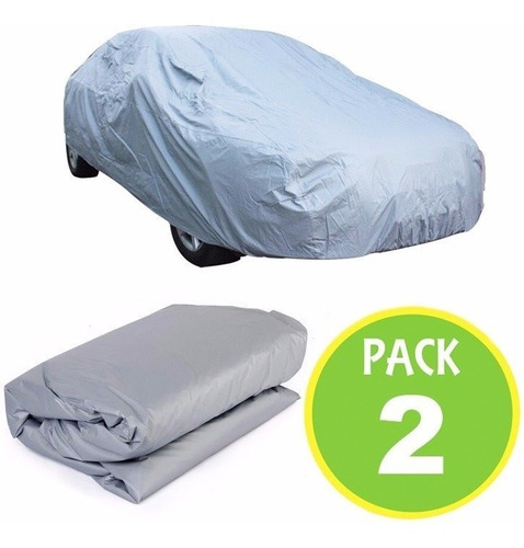 pack 2 cobertor funda auto talla s 400x160x120 / master prox