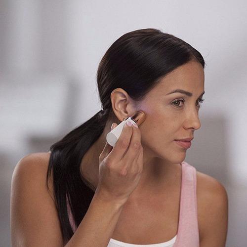 pack 2 depilador cejas entrecejo + depilador facial femenino