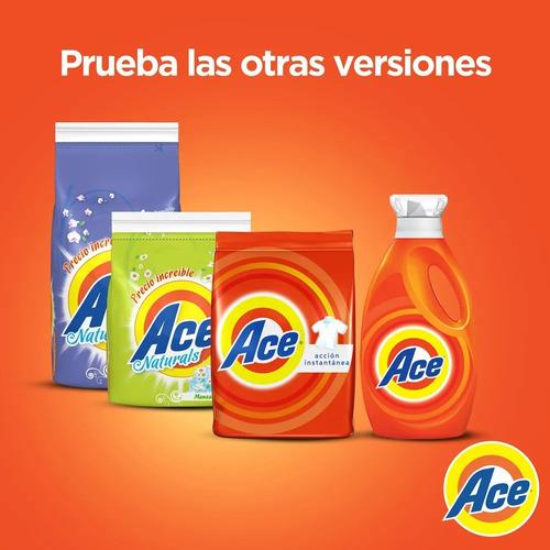 pack 2 detergentes en polvo ace naturals 3 kilos