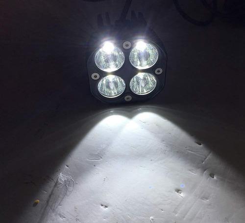 pack 2 foco led 40w neblinero auto moto offroad 4x4