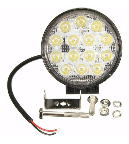 pack 2 foco neblinero led 42w 4x4 16 led cree\60767