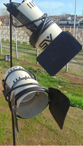 pack 2 focos de fotografía, estudio, video, filmación u.s.a.