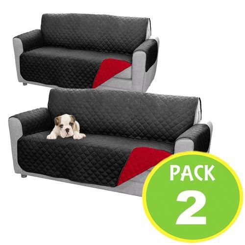 pack 2 fundas cobertor sillon sofa grande er003 / fernapet