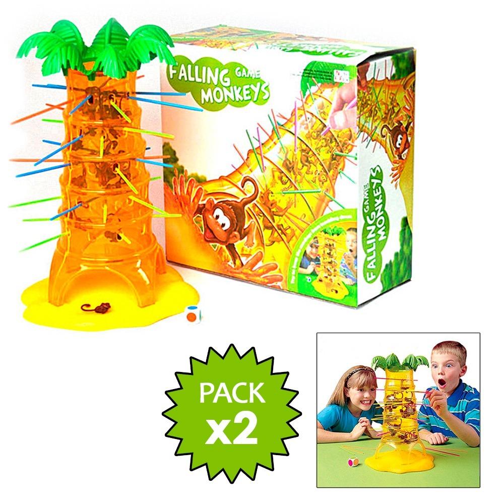 Pack 2 Juegos De Mesa Monos Locos Ninos Didactico 14 990 En