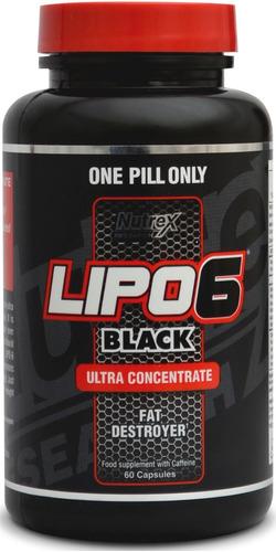 pack 2 lipo 6 black ultra concentrado 60 cap quemador grasa