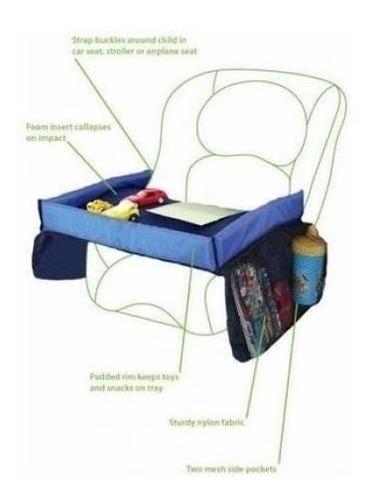 pack 2 mesa de viaje sillas para niños y bebes autos 74303