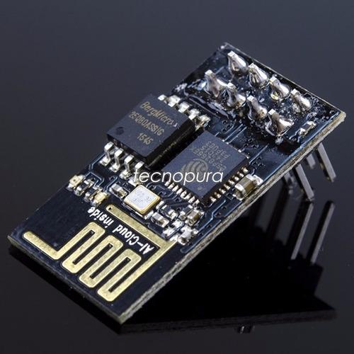 pack *2 módulos inalámbricos wifi para arduino esp8266 esp01