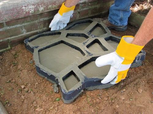 pack 2 moldes para senderos 50x50cm