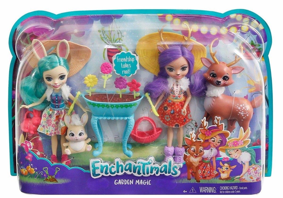 Pack 2 Mu 241 Ecas Enchantimals Jard 237 N M 225 Gico Mattel 2017