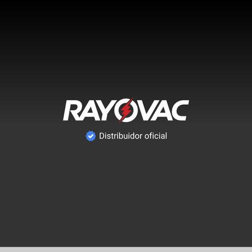 pack 2 pilas recargables rayovac aa 2100mah eco recicladas