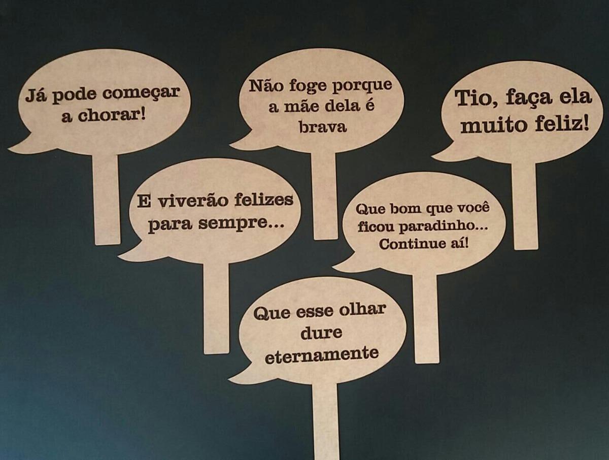 Frases Para Lembrancinhas De Aniversario: Pack 2 Placas Frases Divertidas Mdf Crú