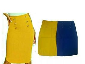 fe1a7d158 Pack 2 Pollera Tubo Bengalina Elastizada Mujer Talle 36 /52