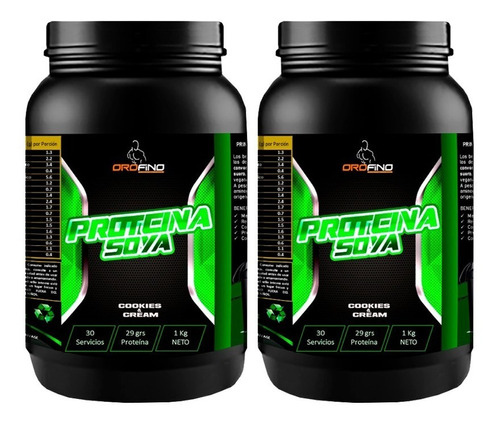 pack 2 proteina soya 4.4lb 30gr suplemento sabores fitness