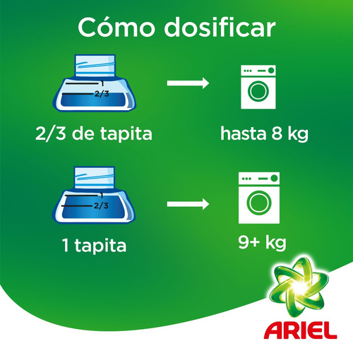 pack 2 recargas pouch detergente liquido ariel downy 1,2 l