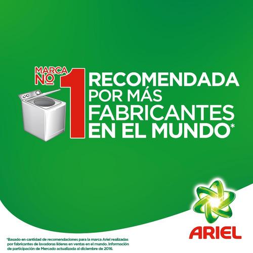 pack 2 recargas pouch detergente liquido ariel regular 1,2 l
