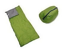 pack 2 sacos de dormir 200 gr 220x75 cm alpes. ferrelectro