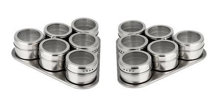 pack 2 set 6 especieros magnéticos condimentos(envío gratis)
