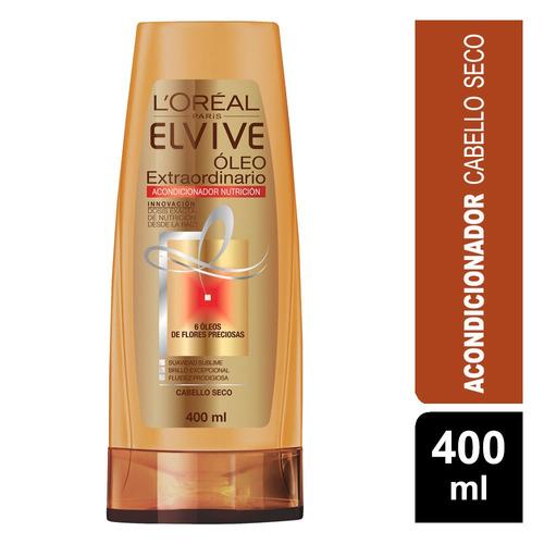 pack 2 shampoo + 1 aco elvive oleo extraordinario l'oréal