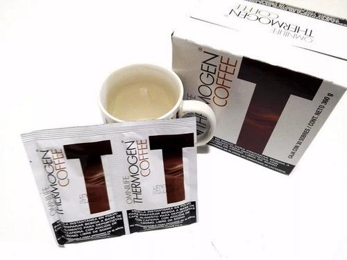 pack 2 sobres thermogen coffee omnilife vida sana adelgazar