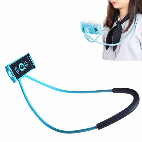 pack 2 soporte de celular o tablet para cuello selfie auto