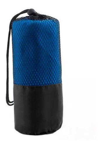 pack 2 toallas microfibra 120x80 cms con bolso de regalo
