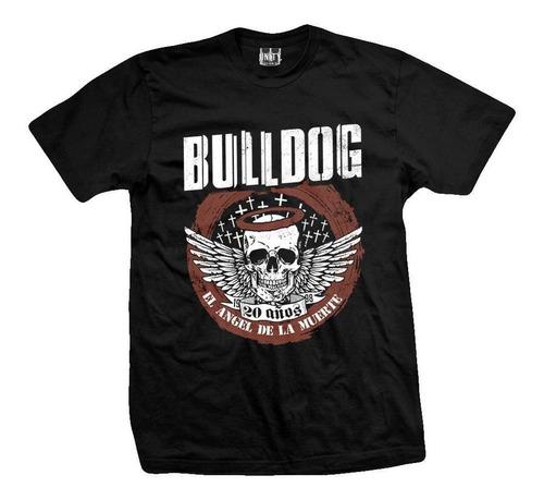 pack 2  vinilo bulldog el angel de la muerte + remera + post