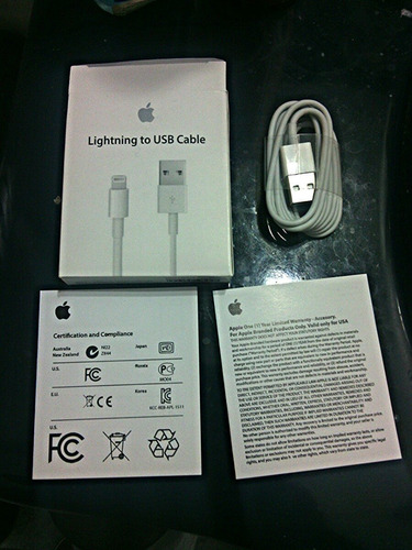 pack 20 cables usb/carga iphone ipad ipod apple original