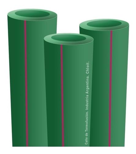 pack 20 tubos caños termofusión 25mm, 3/4p, 4m envío gratis