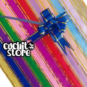Pack 200 Cintas De Regalo Magica Lazo 42x2cm Colores Surtido