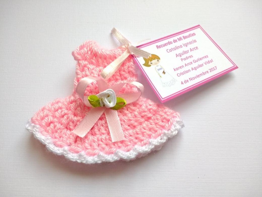 Encintados De Baby Shower De Nina.Pack 24 Encintados Tejidos Crochet Baby Shower Bautizo