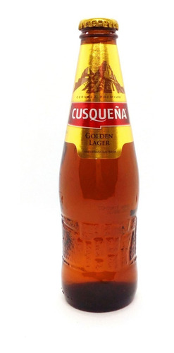 pack 24u cerveza cusqueña golden 330 ml peru