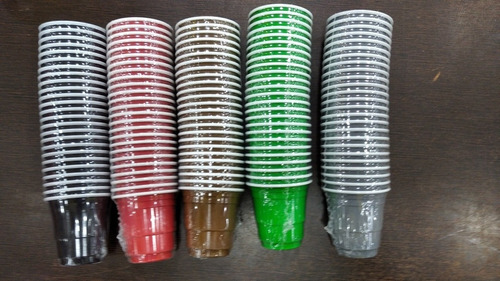 pack 25 vasito plástico 2oz reposteria