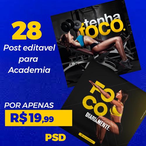 pack 28 artes academia psd