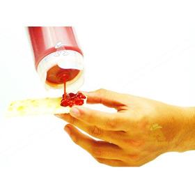 Pack 2uds Tarro Dispensador Salsas Botella Exprimible 355ml