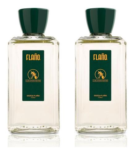 pack 2x flaño club lotion for men edc 200ml