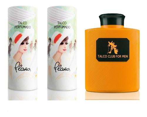 pack 2x talco boulevard 90g + talco for men 140g