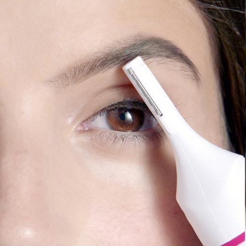 pack 3 afeitadora depiladora femenina ceja axila 5 cabezal