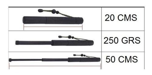 pack 3 bastones de seguridad expandible